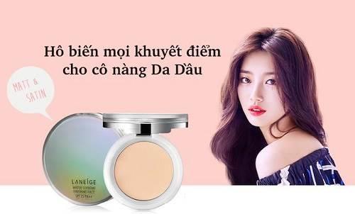 """15 thương hiệu phấn phủ """" CHẤT NHƯ NƯỚC CẤT"""""""