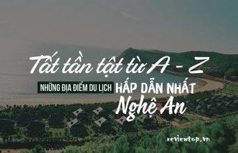 3 Địa điểm du lịch nổi tiếng ở Nghệ An