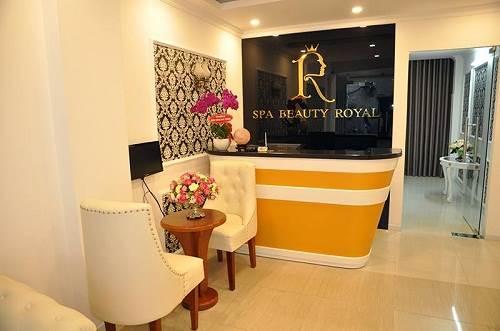 Spa làm đẹp Beauty Royal với không gian sang trọng hiện đại
