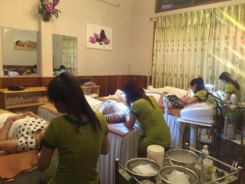 Dịch vụ chăm sóc sắc đẹp tại Thảo Mộc Xanh Spa Quy Nhơn