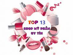Top 13 SHOP mỹ phẩm Online uy tín chất lượng tại Hà Nội