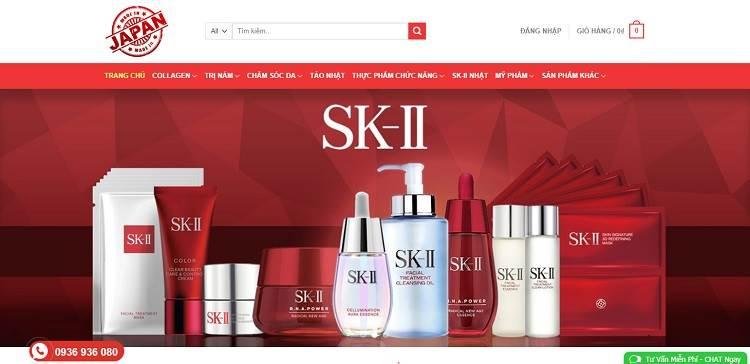 13 SHOP mỹ phẩm Online uy tín chất lượng tại Hà Nội