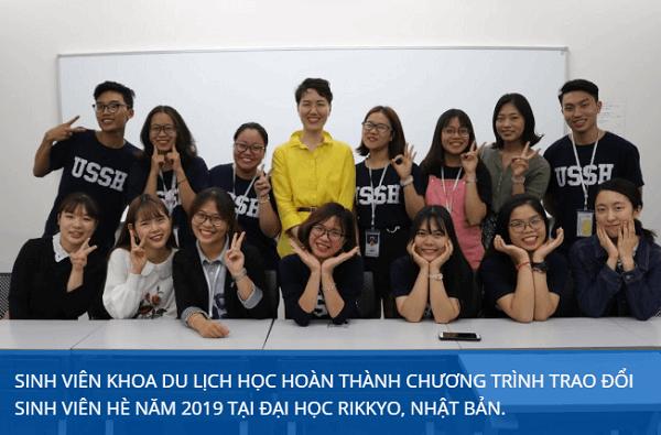 Khoa Du lịch học Trường Đại học Khoa học Xã hội và Nhân văn – ĐHQG Hà Nội