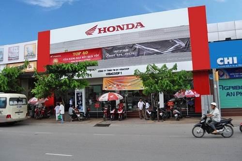 Đại lý Honda Visacoop 1 tại Q. Tân Bình TPHCM