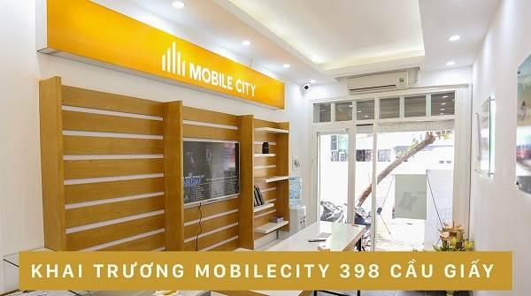 Hệ thống cửa hàng thoại xách tay MobileCity