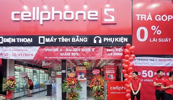 Cửa hàng điện thoại xách tay CellphoneS