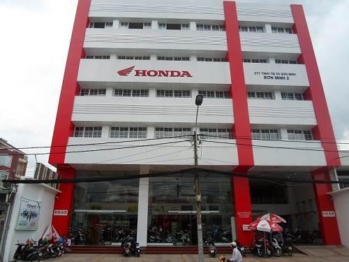 Head Sơn Minh 2 – đại lý Honda tại TPHCM