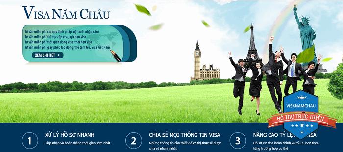 Công ty trách nhiệm hữu hạn Visa Năm Châu