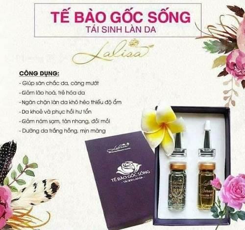Tế bào gốc Lalisa – tế bào gốc làm đẹp da xuất xứ Việt Nam