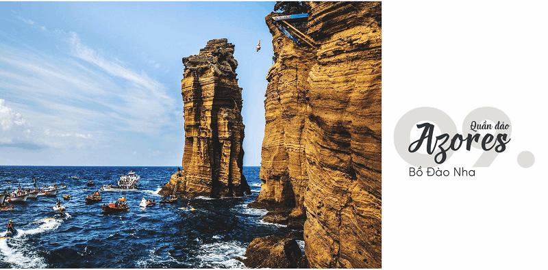 Quần đảo Azores, Bồ Đào Nha - Top 15 địa điểm du lịch đẹp nhất thế giới