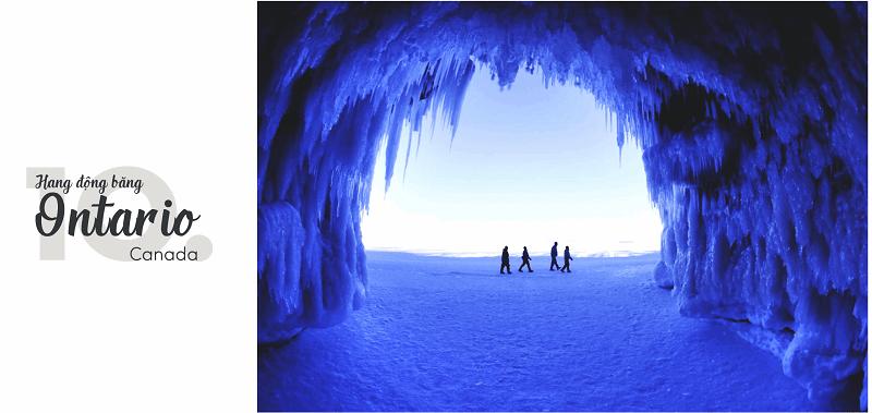 Hang động băng Ontario, Canada
