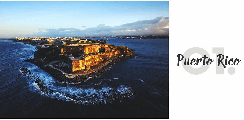 Hòn đảo xinh đẹp Puerto Rico - Top 15 địa điểm du lịch đẹp nhất thế giới