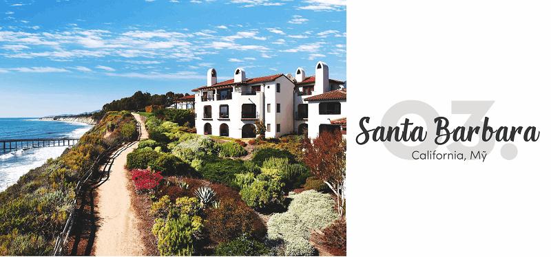 Thành phố Santa Barbara -Top 15 địa điểm du lịch đẹp nhất thế giới