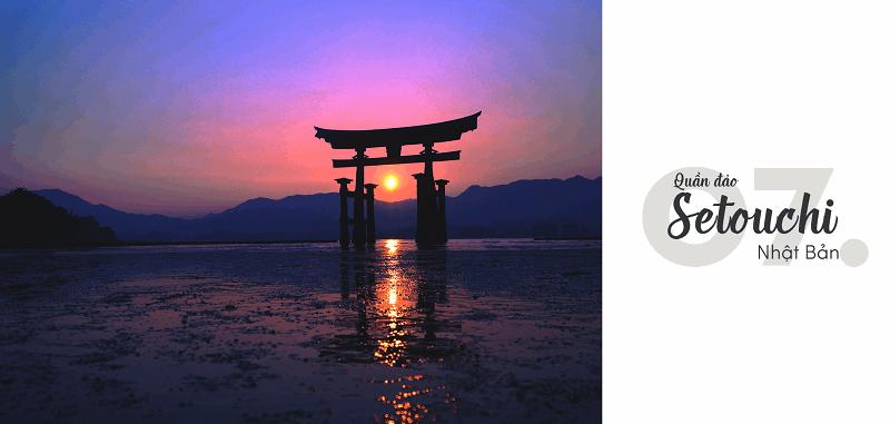 Quần đảo Setouchi, Nhật Bản -Top 15 địa điểm du lịch đẹp nhất thế giới