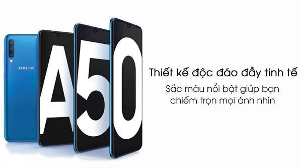 Điện thoại Samsung Galaxy A50 bản RAM 4GB