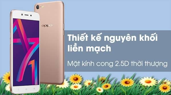 Điện thoại Oppo A71 - Top 5 điện thoại giá rẻ dưới 3 triệu