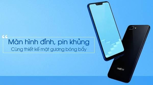Điện thoại Realme C1 - 5 điện thoại giá rẻ dưới 3 triệu