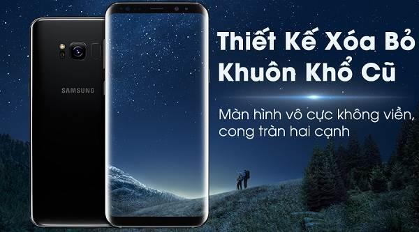 Điện thoại Samsung Galaxy S8, S8+