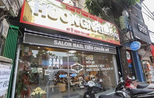 Hương Nail - tiệm nail đẹp ở Hà Nội