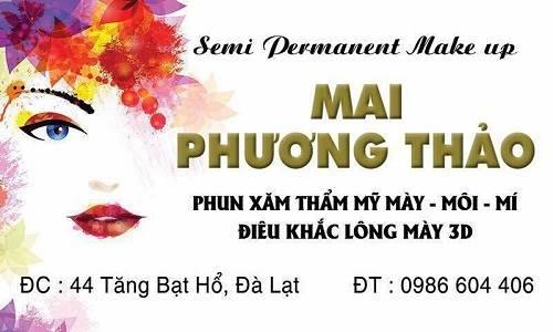 Mai Phương Thảo – địa chỉ phun môi hàng đầu tại Đà Lạt