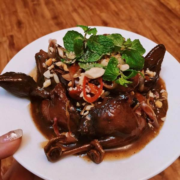 Chim mía món ăn đặc sản Quảng Ngãi