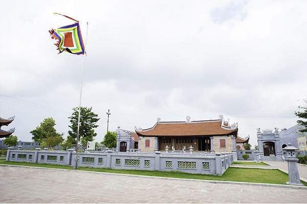 Đền A Sào, huyện Quỳnh Phụ, tỉnh Thái Bình