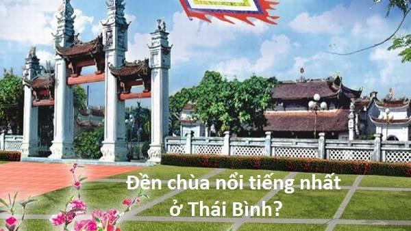 6 đền chùa nổi tiếng ở Thái Bình thu hút đông đảo du khách