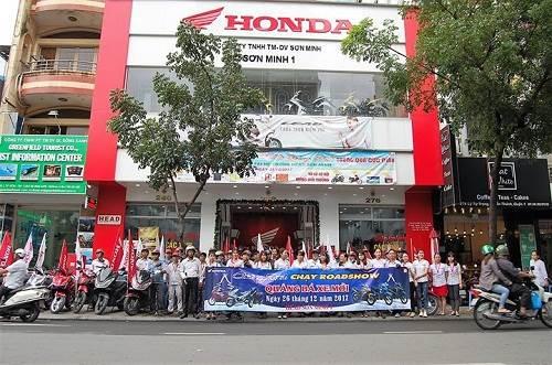 Head Sơn Minh 1 – đại lý  Honda tại TPHCM