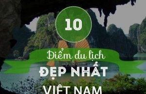 10 địa điểm du lịch Việt Nam lọt top xếp hạng du lịch của thế giới