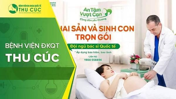 bệnh viện phụ sản tốt nhất Hà Nội- bệnh viện Thu Cúc