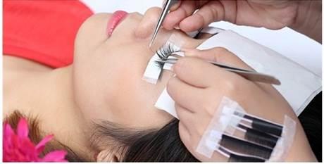 Quá trình nối mi chuyên nghiệp tại Tru & Beauty Nail Japan