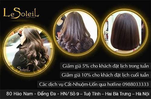 Le Soleil Hair (LSH)- địa chỉ làm tóc ở Hà Nội