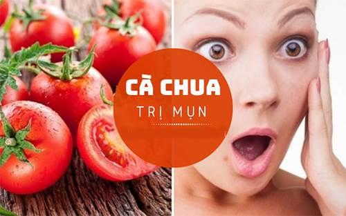 Mặt nạ trị mụn trứng cá đơn giản hiệu quả từ cà chua