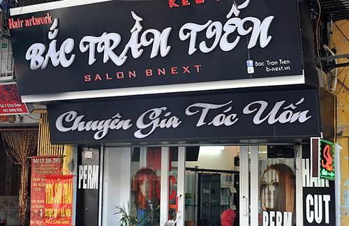 Salon Bắc Trần Tiến – địa chỉ làm tóc nổi tiếng tại Hà Nội