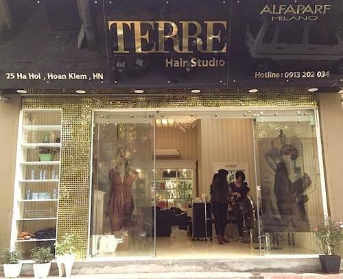 Tiệm tóc nổi tiếng ở Hà Nội – Salon Terre