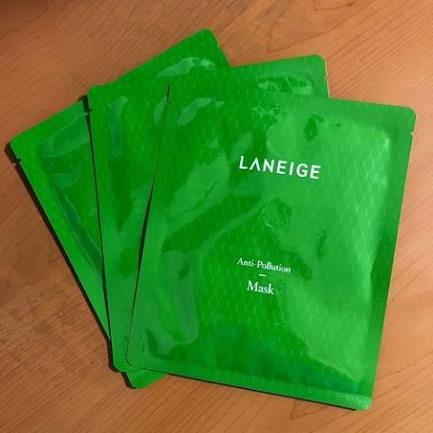 Laniege Anti Pollution Mask – mặt nạ giấy tốt nhất hiện nay