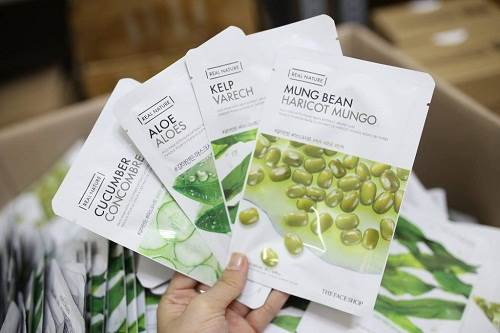 Real Nature Mask Sheet The Face Shop