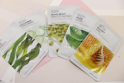 The Face Shop Real Nature Sheet Mask – mặt nạ giấy tốt nhất Hàn Quốc