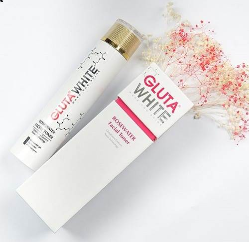 Nước hoa hồng Gluta White – RoseWater Facial Toner