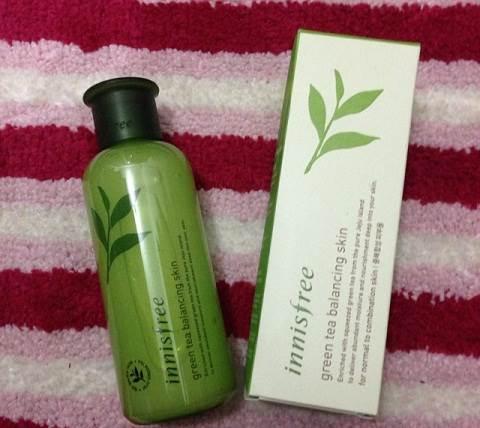 Toner Innisfree Green Tea Moisture Skin