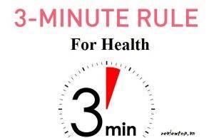 Quy tắc 3 phút kỳ diệu cho sức khỏe để bạn sống lâu sống khỏe hơn