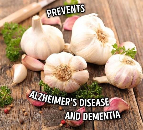 Tỏi là món quà cho người mắc bệnh Alzheimer và suy giảm trí nhớ