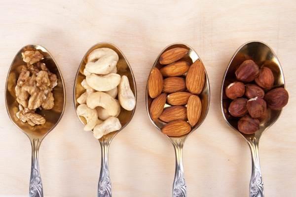 Các loại quả hạch giúp giảm cân