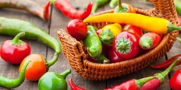 tác dụng giảm cân của ớt