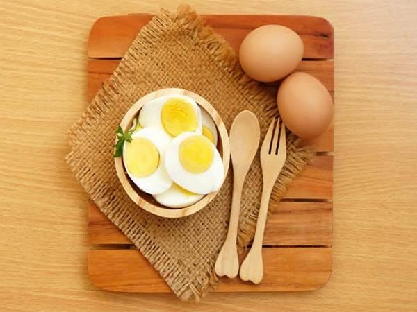 những thực phẩm giảm cân hàng đầu  - Trứng