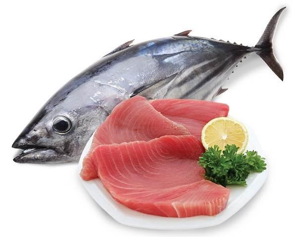 giảm cân hiệu quả với cá ngừ