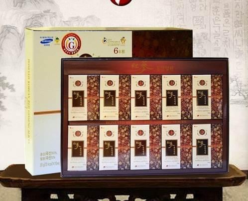 Sâm lát tẩm mật ong hộp giấy 200g Daedong