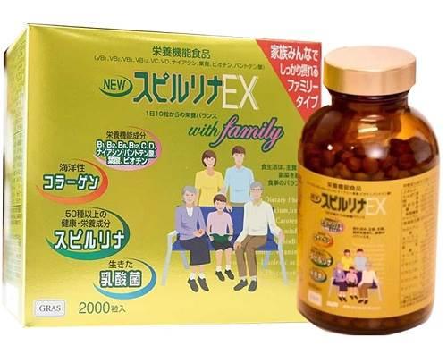 top các sản phẩm tảo vàng Spirulina Nhật Bản tốt nhất
