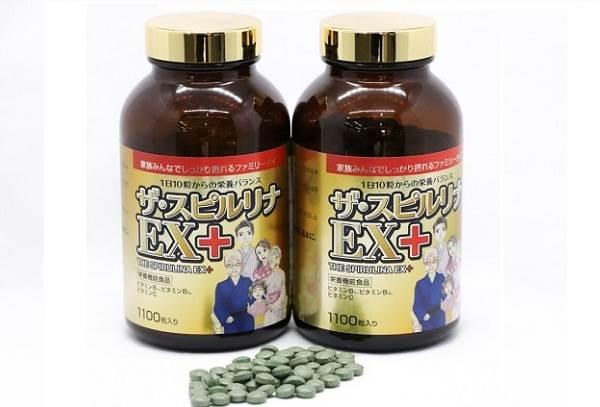 các viên uống tảo vàng spirulina Nhật Bản tốt nhất