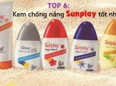 Top 6 kem chống nắng Sunplay tốt nhất và đáng dùng nhất hiện nay
